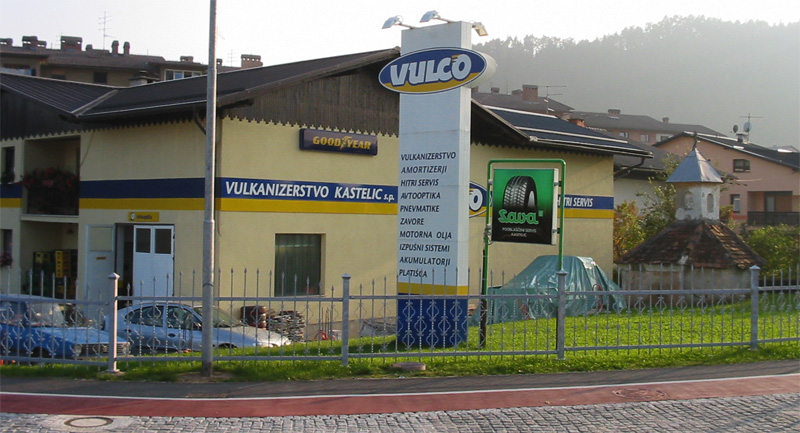 Avtoservis in vulkanizerstvo Kastelic
